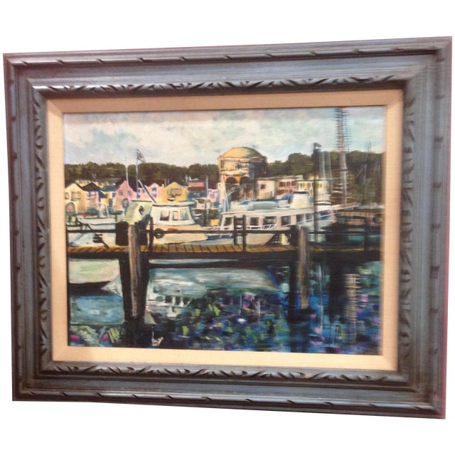 Palace of Fine Arts, San Francisco - Oil on Board - Image 1 of 6