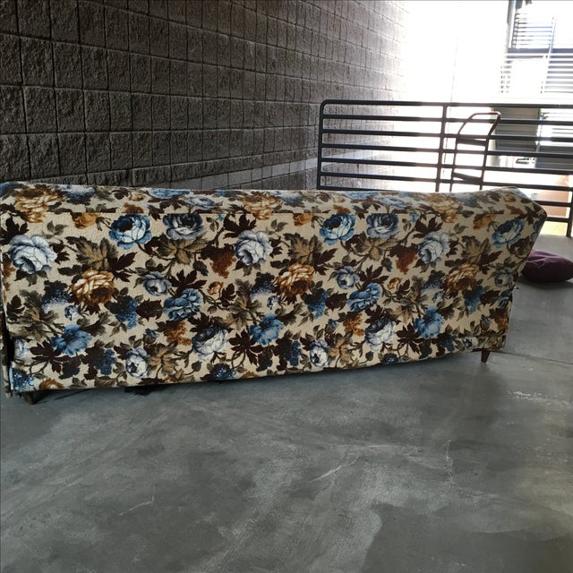 Mid Century Modern Convertible Daybed - Image 5 of 9