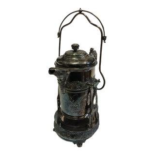 Vintage Victorian Silver Samovar
