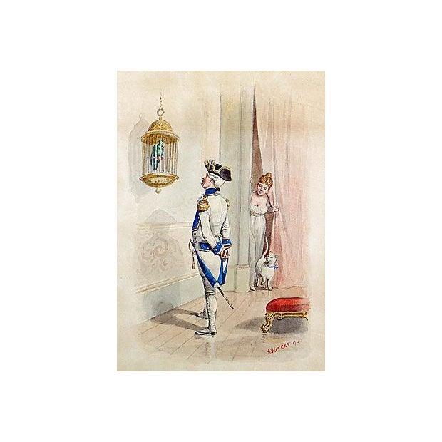 Image of French Soldier Lithograph Print