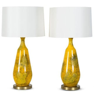 Pair of Goldfinch Lamps