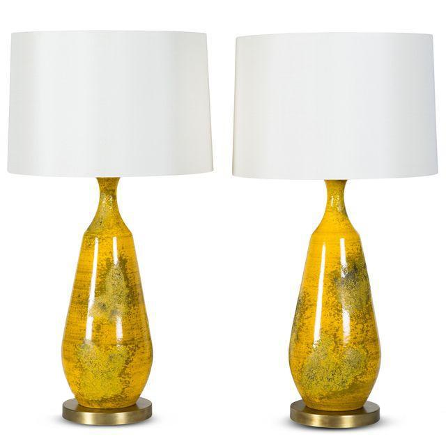 Image of Pair of Goldfinch Lamps