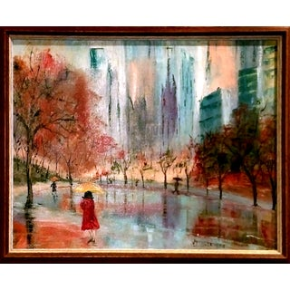 Central Park, NYC Impressionist Oil Painting