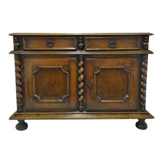 French Louis XIII Walnut Buffet