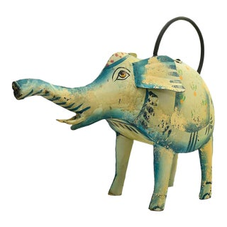 Iron Elephant Watering Can