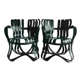 Frank Gehry for Knoll Int. Crosscheck Armchairs - A Pair