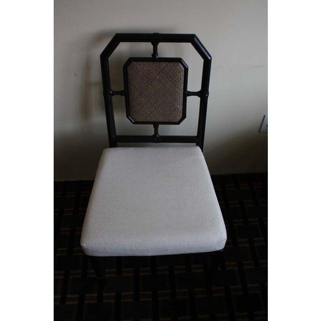 McGuire Harlan Side Chair in Gunmetal - Image 4 of 8