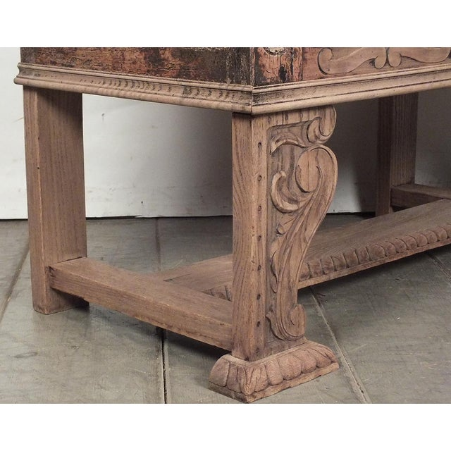 18th Century French Trunk Spanish Baroque-Style - Image 9 of 10