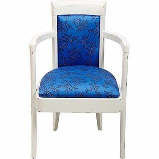 Lilly Pulitzer for Kravet Blue Armchair