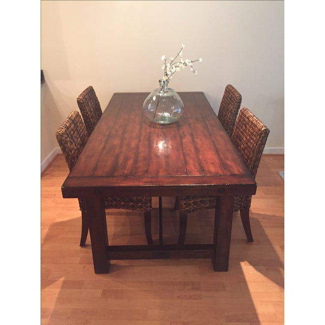 Pottery Barn Benchwright Dining Table Chairish