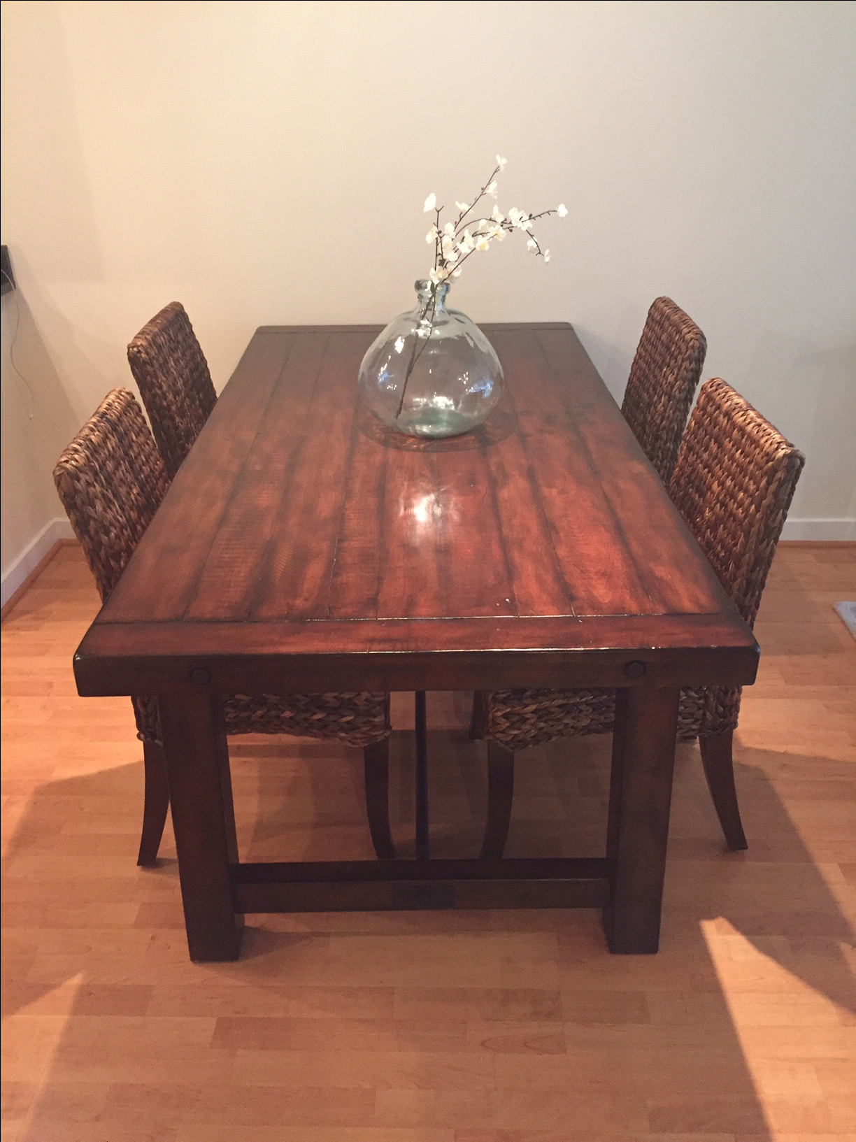 Pottery Barn Benchwright Dining Table   Image 4 Of 4