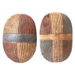Image of Songye Shield Wall Hangings - Pair