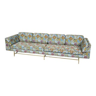 Paul McCobb Jack Lenore Upholstered Long Sofa