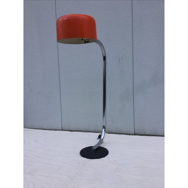 Image of 1960's Robert Sonneman Arc Chrome Floor Lamp