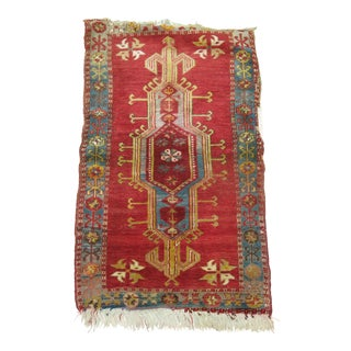 Antique Turkish Rug, 2'1'' x 3'3''