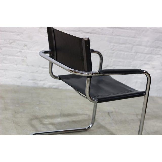 Tubular Chrome Cantilever Chair - Image 3 of 5