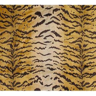 Old World Weavers Silk Pile Tiger Velvet Fabric - 3 Yards