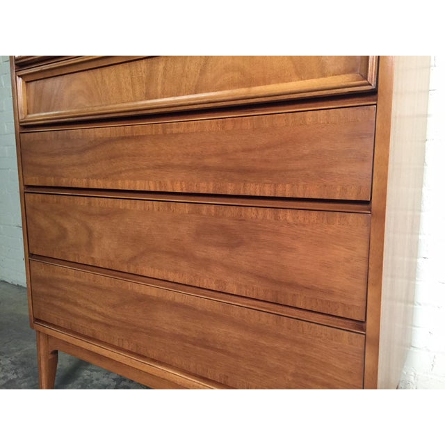 Dixie Mid-Century Modern 5-Drawer Chest Of Drawers / Dresser - Image 8 of 8