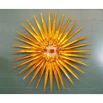 Image of Curtis Jere Brass Wall Sculpture
