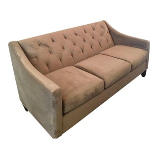 Upholstered Tufted 3-Seater Sofa
