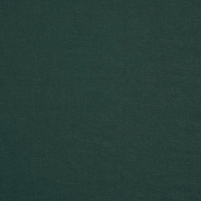 Rolled Arm Forest Green Linen Loveseat - Image 7 of 7