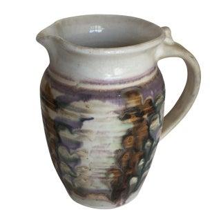 Handmade Drip Glaze Pottery Pitcher