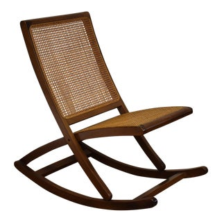 Italian Mid-Century Rocking Chair