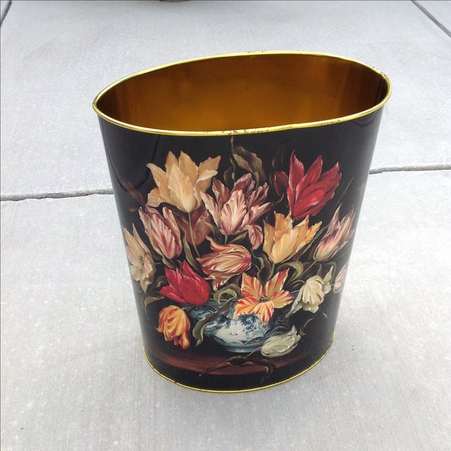 Vintage Tulip Wastebasket - Image 8 of 8