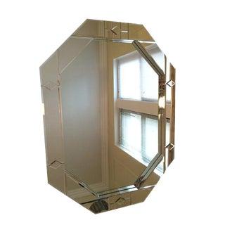 Carol Canner for Carvers' Guild Octagonal Framed Mirror
