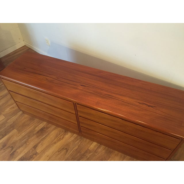 Torring Danish Modern Teak Dresser - Image 6 of 11