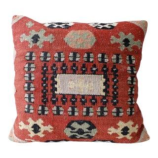 Vintage Bohemian Turkish Kilim Pillow