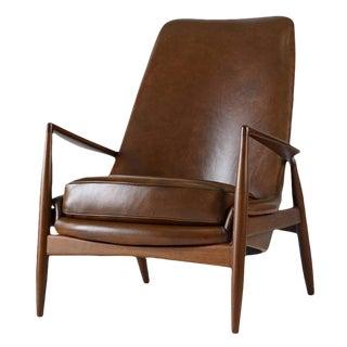 "Ib Kofod-Larsen High Back ""Seal"" Chair"