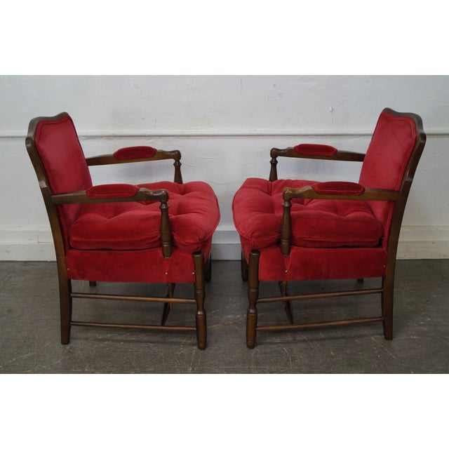 French Country Fauteuils Arm Chairs - A Pair - Image 4 of 11