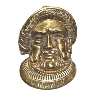 Henry VIII Door Knocker
