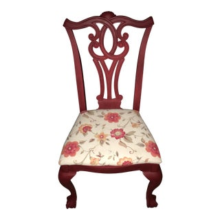 Hand Painted Refinished Chair