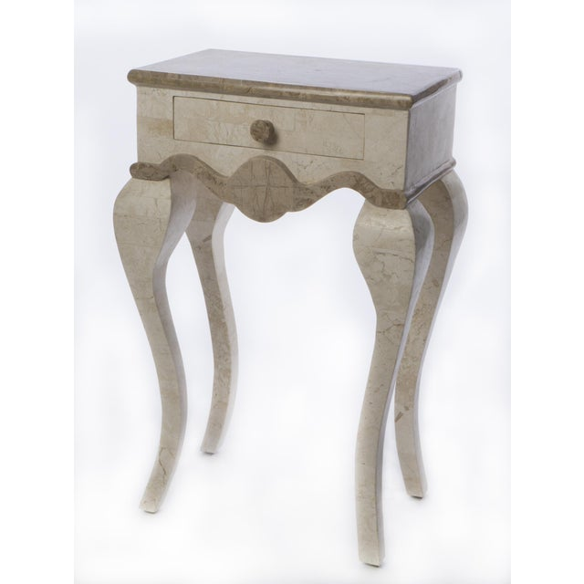 Stone End Table - Image 2 of 4