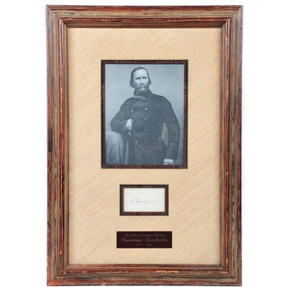 Giuseppe Garibaldi Framed Autograph
