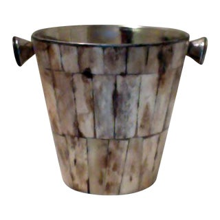 Bone Plated Ice Bucket