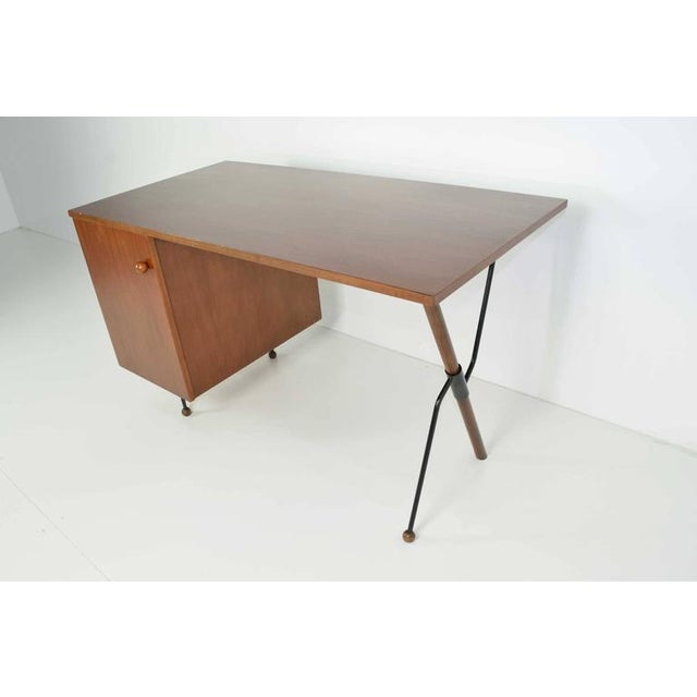 Greta Grossman Walnut Desk by Glenn of California - Image 2 of 7