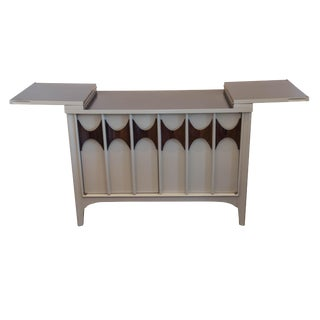 Kent Coffey Perspecta Server or Bar in Grey Lacquer