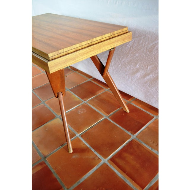 Mid-Century Convertible Castro Dining/Coffee Table - Image 4 of 11