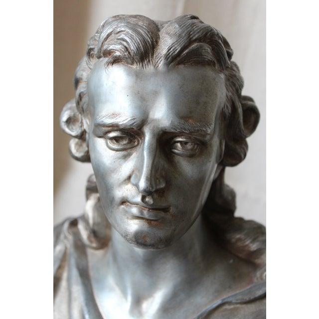 Spelter Bust of Schiller - Image 7 of 10