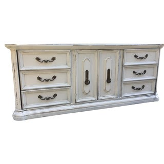 Stanley Furniture Shabby White Dresser
