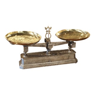 Antique French 10 Kilo Scale, Circa 1910