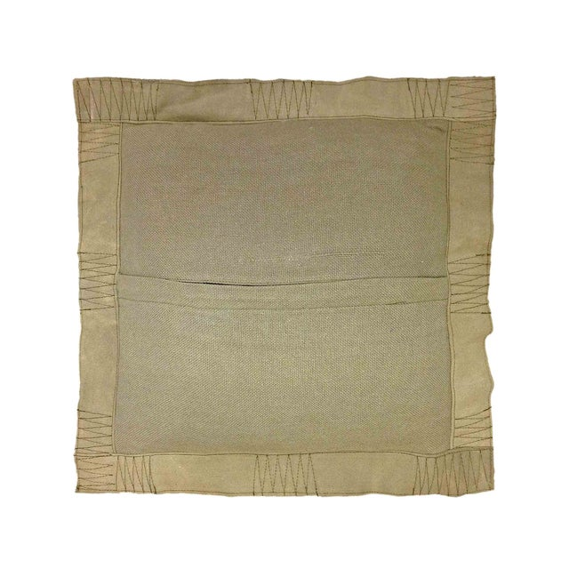 Image of No. 208 Square Military Tent Pillow