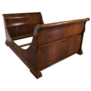 Guido Zichele French Empire Queen Sleigh Bed