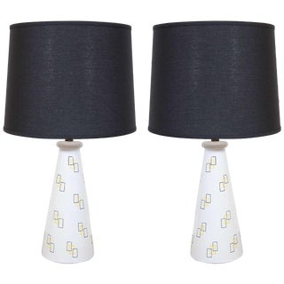 Pair of Charming Modernist Lamps