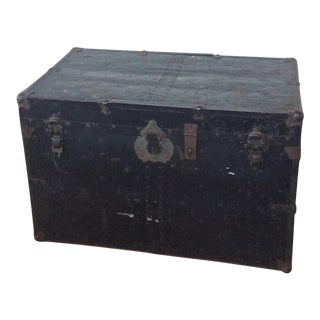 Vintage World War II Trunk
