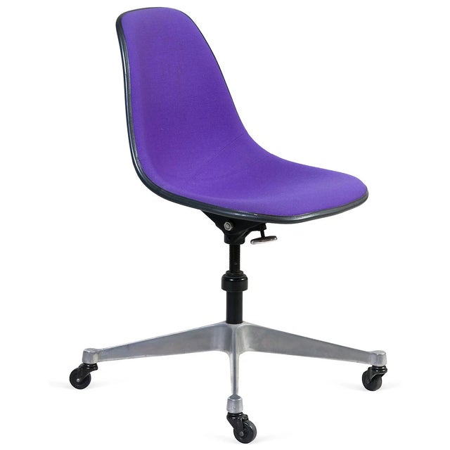 Purple Eames Rolling Chair - Image 1 of 7