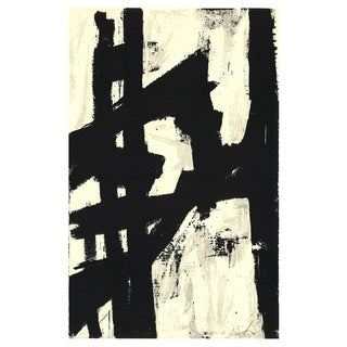 1991 New York NY Serigraph by Franz Kline